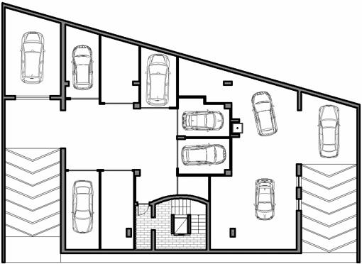 Il piano interrato della residenza ecosole for 2 piani di box auto gratuiti